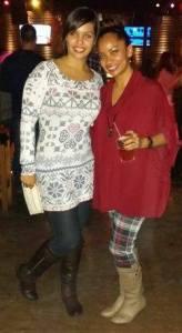 Gina and I