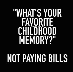 Paying Bills Quote
