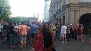 Equality celebration in Jackson Square