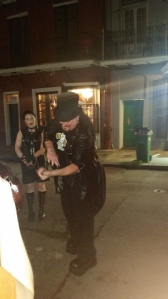 Vampire tour guide in New Orleans