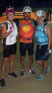 My parents and I before the race.