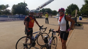 My parents finished the race too! My mom's first 100, my dad's second 100 ride.