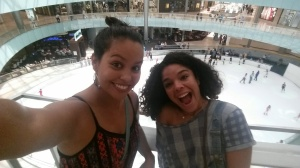 Galleria Mall with Van