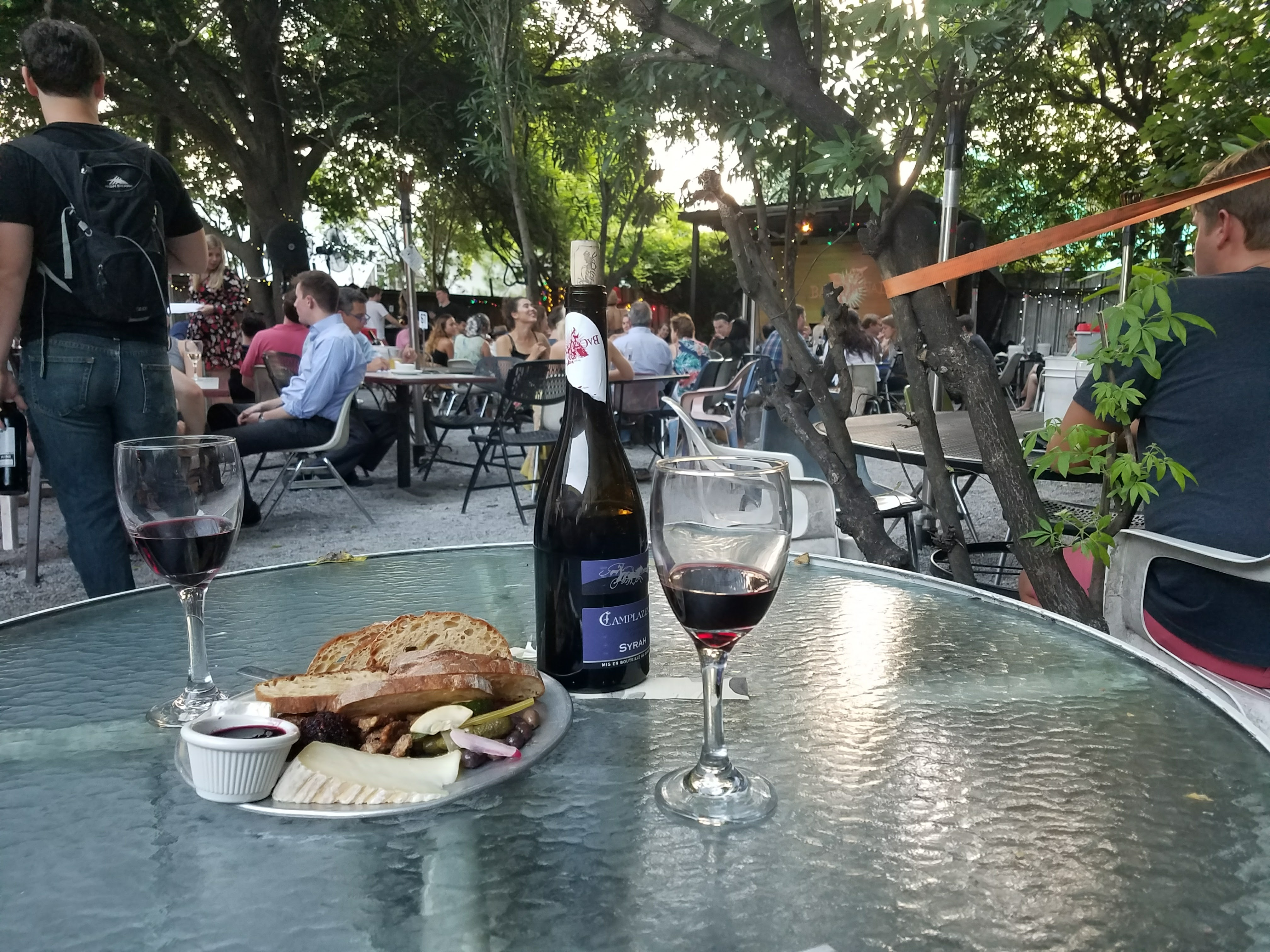 Bacchanal Wine is a cute wine bar in the Bywater/Marigny neighborhood in New Orleans. It has a great