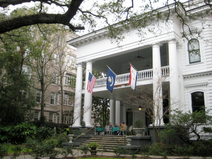 Columns Hotel in New Orleans has a haunted past, historic vibe, and