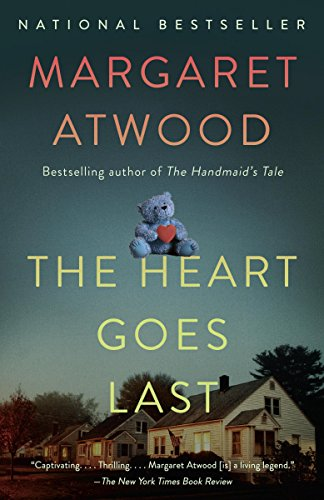 Margaret Atwood's The Heart Goes Last follows a couple in the near American future, who choose to live in prison every other month for protection, work, and food. But life for the couple is not great and things get scary fast.